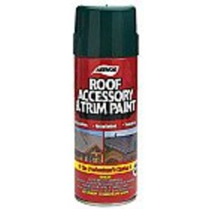 Dottie 1609 Aerosol Roof Accessory & Trim Paint, Rustic Black, 16 oz