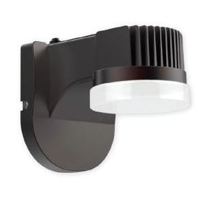 Philips - Light To Go LWLLED1C5K120PCBBZ LED Wall Light, 5000K, 120V, Photocell Button Type, Bronze