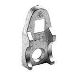 "Bridgeport Fittings 942-AL Clamp Back, Size: 3/4"", Material: Aluminum"