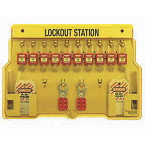 Ideal 44-806 Lock Station Kit,ideal,lockout,10 Pieces