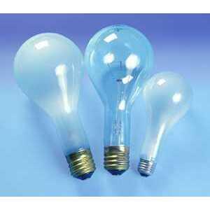 Candela 202PS25/CL-125V Lamp, Incandescent, 202W, 125V, PS25, Clear, Medium Base