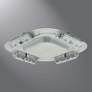 Lumark QDCAST1B LED Luminaire, Quadcast, 56W, 120-277V