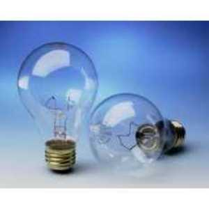 SYLVANIA 60A19TS/8M/SS-120-125V Incandescent Bulb, Traffic Signal, A19, 60W, 125V, Clear