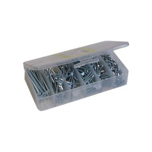 Dottie 10HX #10 Sheet Metal Screw Kit Hex Head/slotted