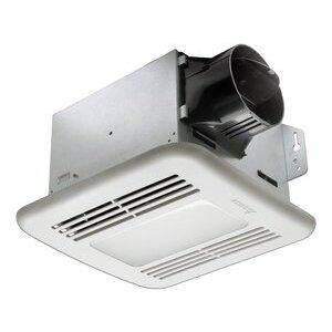 Delta Products GBR100LED 100 CFM Fan/Light, LED, Energy Efficient