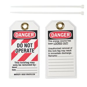 Brady 65520 Lockout Tags
