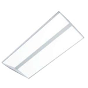 Metalux 24EN-LD2-54-UNV-L840-CD1-U LED Troffer, 2 x 4', 54.4W, 120/277V, 4000K