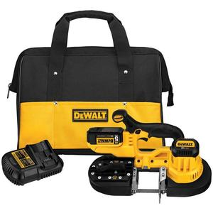 DEWALT DCS371P1 20V Max* Lithium Ion Band Saw Kit, Limited Quantities Available