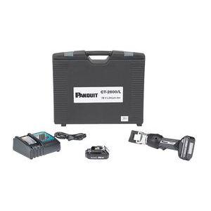 Panduit CT-2600/L Battery Powered Hydraulic, 4 Ton, Crimping Tool