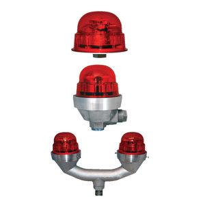 Dialight D1RWFH409 Dual Red/White Medium Intensity Flash Head
