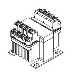 Hammond Power Solutions PH50MGJ Transformer, Control, 50VA, 280/277/208 - 120 x 240, Group K