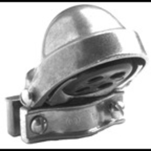 "Bridgeport Fittings 1260 Service Entrance Cap, Type: Clamp-On, Size: 4"", Material: Aluminum"
