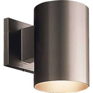 Progress Lighting P5674-20/30K  LED Outdoor Wall Cylinder, 16.9W, 537L, 3000K, 120V, Antique Bronze