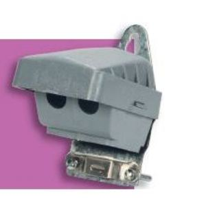 Steel Electric Products NS9 PVC Entrance Head, Universal Clamp, (3) 8 to 2 AWG