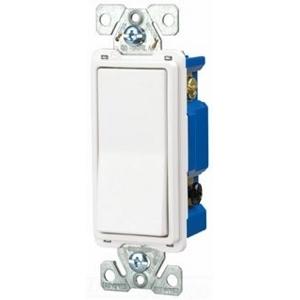 Eaton Arrow Hart 7504W-BOX Four-Way Decora Switch, 15A, 120/277VAC, White