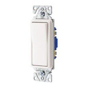 Eaton Wiring Devices 7504W-BOX Four-Way Decora Switch, 15A, 120/277VAC, White