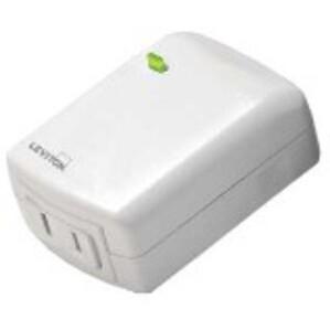 Leviton DW3HL-1BW Decora Smart Wi-Fi Plug-in Dimmer