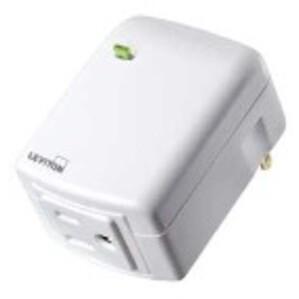 Leviton DW15A-1BW  Decora Smart Wi-Fi Plug-in Outlet