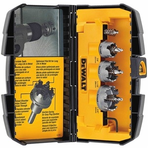 DEWALT DWACM1802 3-Piece Hole Saw Kit