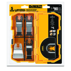 DEWALT DWA4216 Oscillating 5 Piece Set