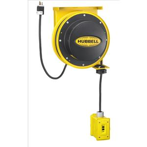 Hubbell-Wiring Kellems HBL45123GF20 Cord Reel, Outlet Box, (1) 20A GFCI Receptacle