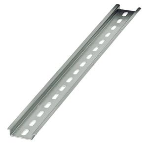 Eaton XBANS3575P DIN Rail, Slotted, Zinc Plated Steel, 35mm x 7.5mm x 2m