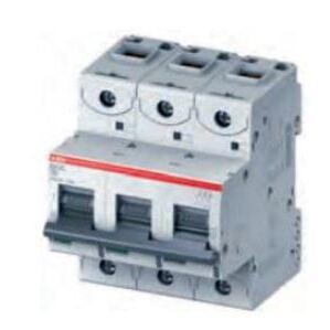 Thomas & Betts S803N-D32 Breaker, Miniature, 32A, D Trip, 3P, 240/415VAC, DIN Rail Mount