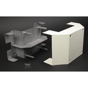 Wiremold V4075D 4000 Bridge Fitting, Ivory