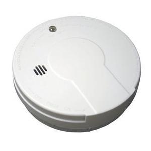 Kidde Fire PE9E Smoke Detector, Photoelectric, Battery Powered