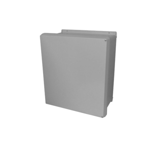 """GE VES-349543-00 Junction Box With Window, NEMA 4X, Screw Cover, 14 x 16 x 6"""", Polyester"""