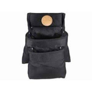 Klein 5702 Blk 2-pockt Cordura Tool Pouch