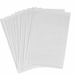 """Brady 81772 Adhesive Backed Protective Envelope, Open Ended, 5.5""""x8.5"""""""