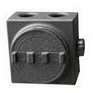 "OZ Gedney GUEB7-75AN4 Outlet Box, GUEB, (7) 3/4"" Hubs, Aluminum"