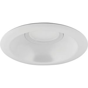 "Progress Lighting P8071-28-30K LED 6"" Recessed Trim, 10.5W, 725L, 3000K, 120V, Satin White"
