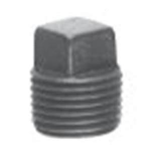 "Cooper Crouse-Hinds PLG25SA Close-Up Plug, Square Head, 3/4"", Explosionproof, Aluminum"
