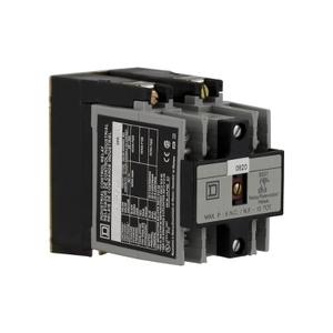 Square D 8501XO20V08 RELAY 600VAC 10AMP NEMA +OPTIONS