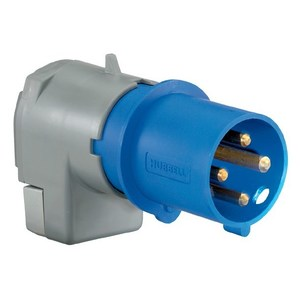 Hubbell-Wiring Kellems A5100P9 PS, IEC, PLUG, 4P5W,