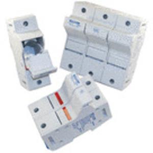 Mersen US6J1I Fuse Holder, 60A, 600V AC/DC, Class J, 1P, Ultrasafe, Indicators