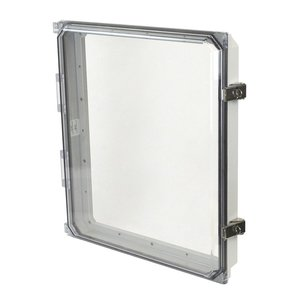 """Allied Moulded AMHMI164CCL HMI Cover Kit, Size: 16 x 14"""", Type: Snap Latch/Hinge, Clear"""