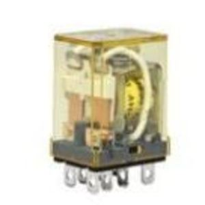 IDEC RH2B-ULAC120V Relay, Ice Cube, Compact, 8-Blade, 10A, 2P, 120VAC Coil, w/ Options