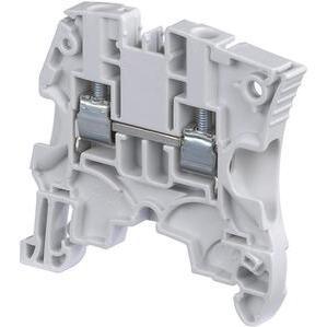 Entrelec 1SNA146227R2500 Terminal Block, Screw Clamp, Thermocouple, Gray, 6mm Spacing