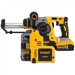 DEWALT DCH273P2DH Rotary Hammer Kit with Dust Extractor