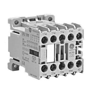 GE MC1C310ATDMP Contactor, Miniature, 9.0A, 3P, 24VDC Coil, 600VAC Rated, 1NO