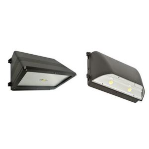 SYLVANIA WALPAK2C/050UNV740/CO/BZ LED Wallpack, 50W, 120-277V, 4000K, 6200 Lumen, Bronze