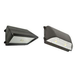 SYLVANIA WALPAK2C/050UNV750/CO/BZ LED Wallpack, 50W, 120-277V, 5000K, 6300 Lumen, Bronze