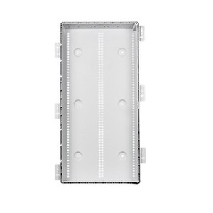"ON-Q ENP30805 Enclosure, 30"" H x 17.1"" W x 4.09"" D, ABS, Paintable, Hinge Cover"