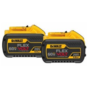 DEWALT DCB609-2 20/60V MAX* Flexvolt Battery