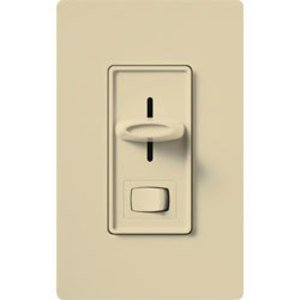 Lutron SLV-603P-IV Slide Dimmer, 450W, 3-Way, Ivory