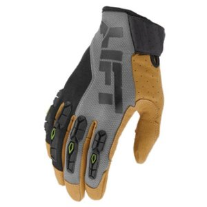 Lift Safety GHR-17YBR1L Handler Glove, Grey, X-Large