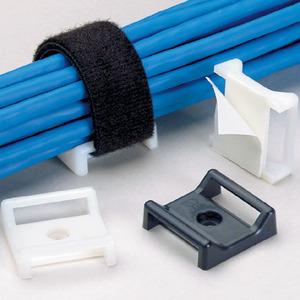 """Panduit ABMT-A-Q Cable Tie Mount, Adh., 1.12""""x1.12"""" (28.5"""